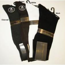 Rizzi 100% Mercerized Cotton Dress Socks- Men's