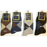 12 pairs of argyle cotton casual or..