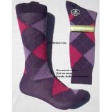Vannucci mercerized cotton purple, ..