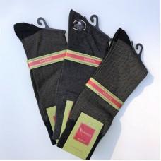 3 Pack 13-16 Big and Tall Mercerized Cotton Dress Socks