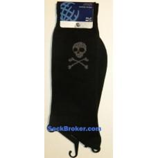 2xist single skull men's casual dress socks