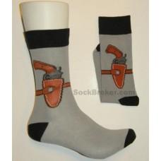 Gun Holster casual dress socks