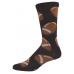 Novelty football cotton crew socks