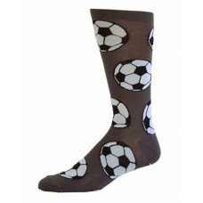 Novelty soccer cotton crew socks