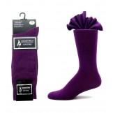 Premium dark purple cotton dress so..