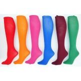 Thin over the calf tube dress socks..