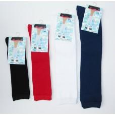 Sale!! 12 pairs girls School Uniform solid cotton knee high socks- children
