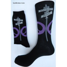 Ashbury and Haight hippie cotton  dress socks size 6-12