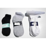 Cotton Diabetic Ankle Socks-6Pack