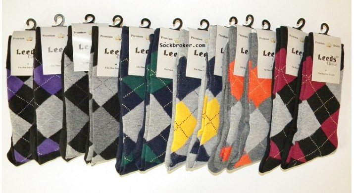 Men's Small Feet Dress Socks