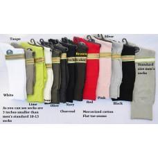 Men's Vannucci Small Feet Solid Cotton Dress Socks