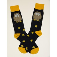 Wise Owl Cotton Crew Socks Size 6-12