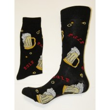 20% off Beer Mug Cotton Crew Socks size 6-12