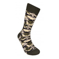 Cotton Army Camouflage Dress Socks