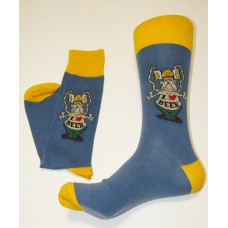 20% off I Love Beer Bong Cotton Crew Socks Size 6-12