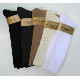 EZ Wide Top Microfiber Ribbed Nylon..