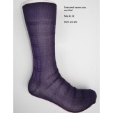 Dark purple textured rayon formal d..