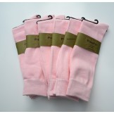 6 Pair Groomsmen Cotton baby pink d..