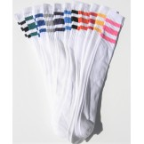 23 inch White Tube Knee High Socks ..