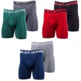6 Pack Black Jack Sports Men's Long..