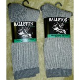 Ballston charcoal heavy cushioned m..