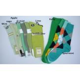 Green socks- Men's