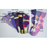 Purple socks-Men's