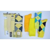 Yellow socks- Men's