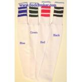 Tube Socks Retro Striped and Plain