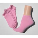 3 pairs of  pink low cut socks 9-11..