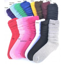 3 PK Of Premium 95% Cotton Slouch Socks Size 5-9