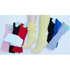 Heavy slouch knee high socks for shoe size 5-9