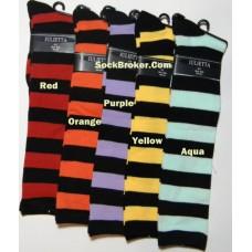 Julietta thick striped knee high socks