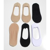 6pr Cotton Non Slip No show Socks l..